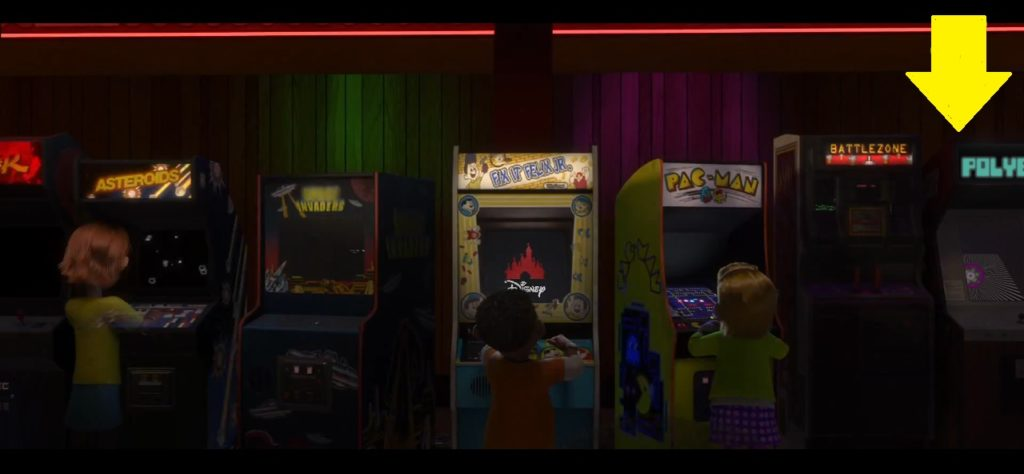 Polybius arcade game creepypasta in Wreck-It Ralph movie