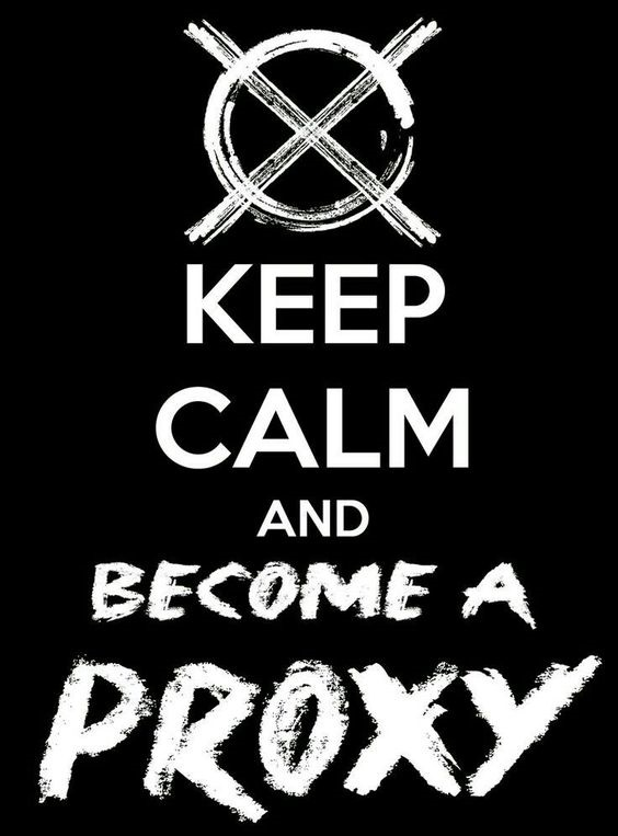 Be a Proxy creepypasta internet memes