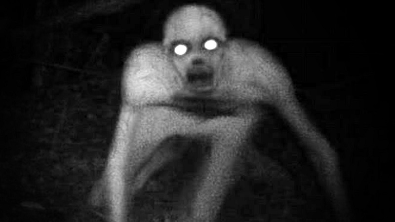 The Rake creepypasta creature photo